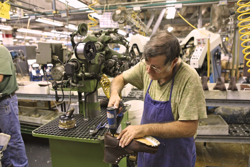 Sneak peek red wing shoe co aw11 a continuous lean for Brooks brothers garland shirt factory