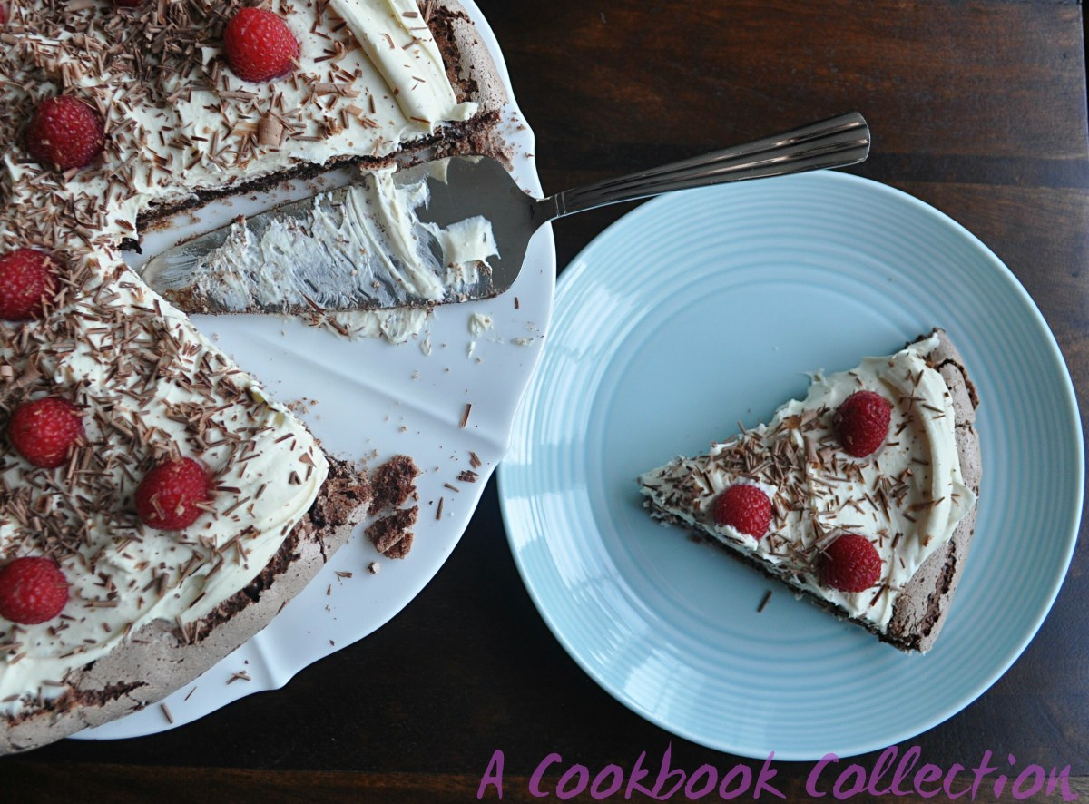 Chocolate Pavlova with Mascarpone Cream