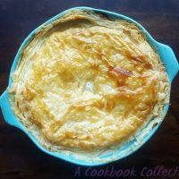 Rustic Chicken, Mushroom and Leek Pie