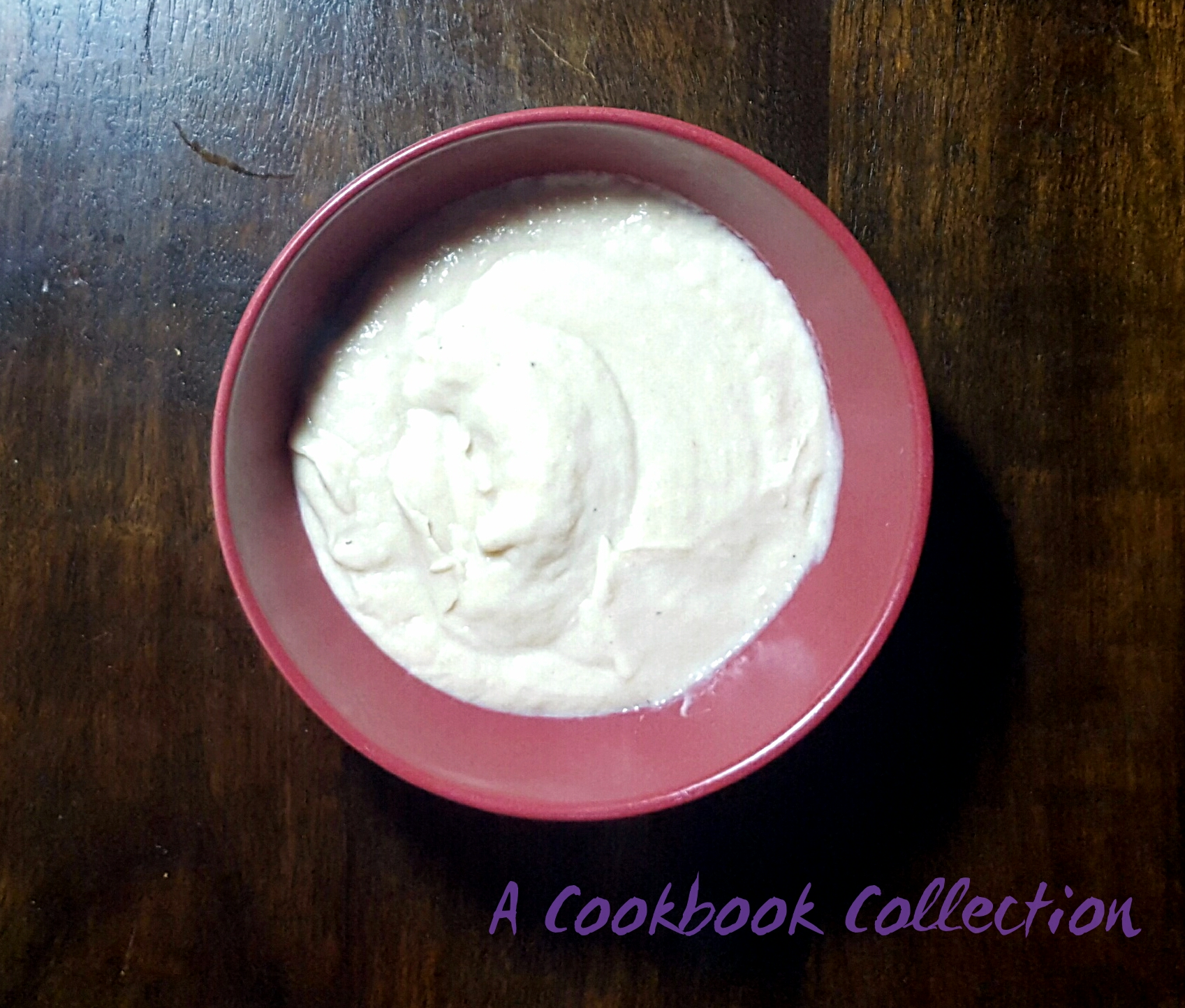 Cauliflower Puree - A Cookbook Collection