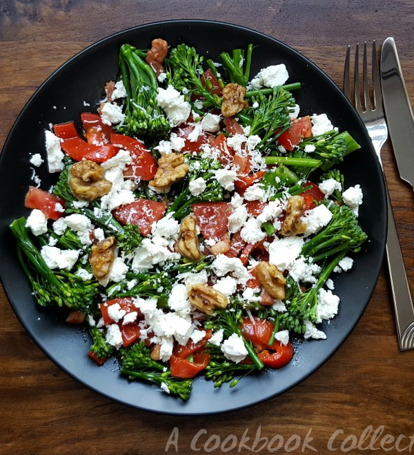 Broccoli and Feta Salad - A Cookbook Collection