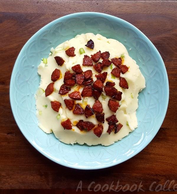 Creamy Mashed Potato and Chorizo Salad- A Cookbook Collection