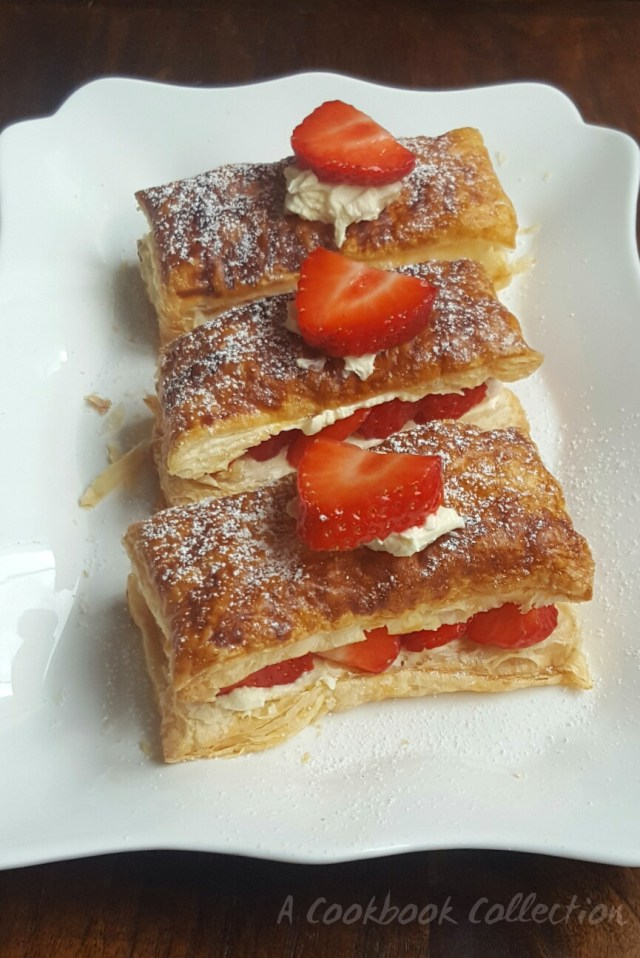 Simple Strawberry Slice - A Cookbook Collection