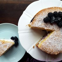 Blackberry Sponge Cake