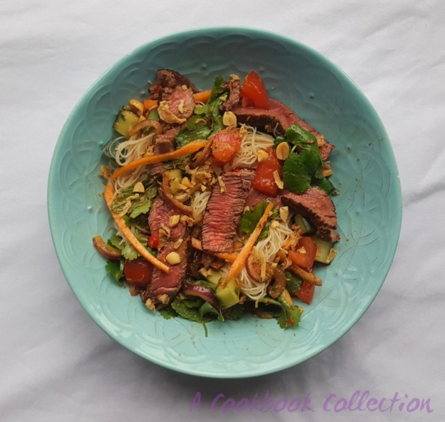 Thai Beef Noodle Salad - A Cookbook Collection