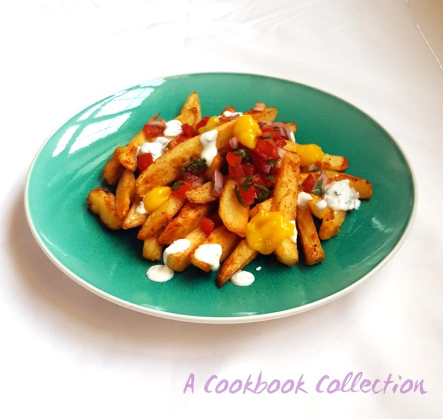 Masala Fries Mango Salsa Raita - A Cookbook Collection