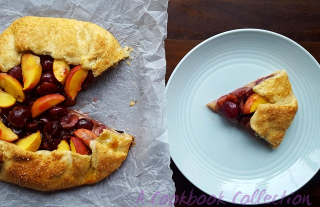 Cherry and Peach Galette- A Cookbook Collection