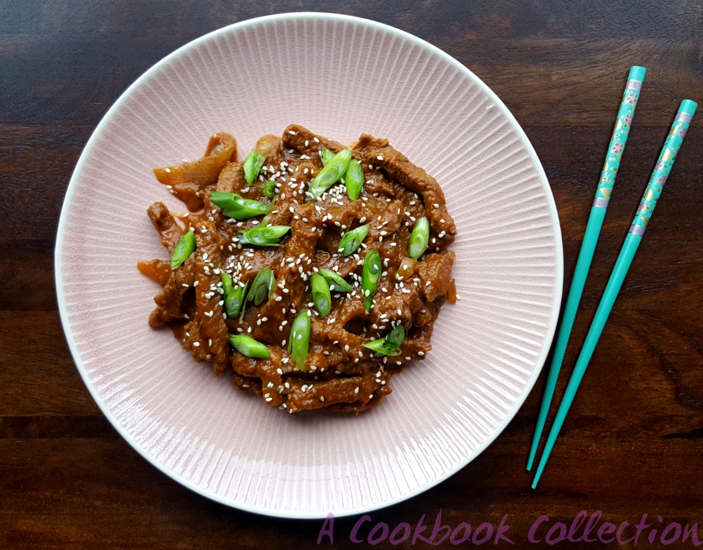 Korean Stir Fried Beef Bulgogi - A Cookbook Collection