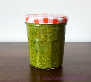 Pistachio Pesto - A Cookbook Collection