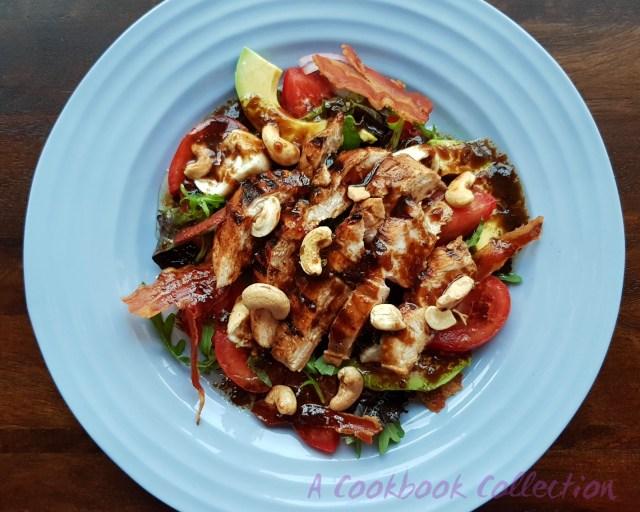 Balsamic Chicken Salad - A Cookbook Collection