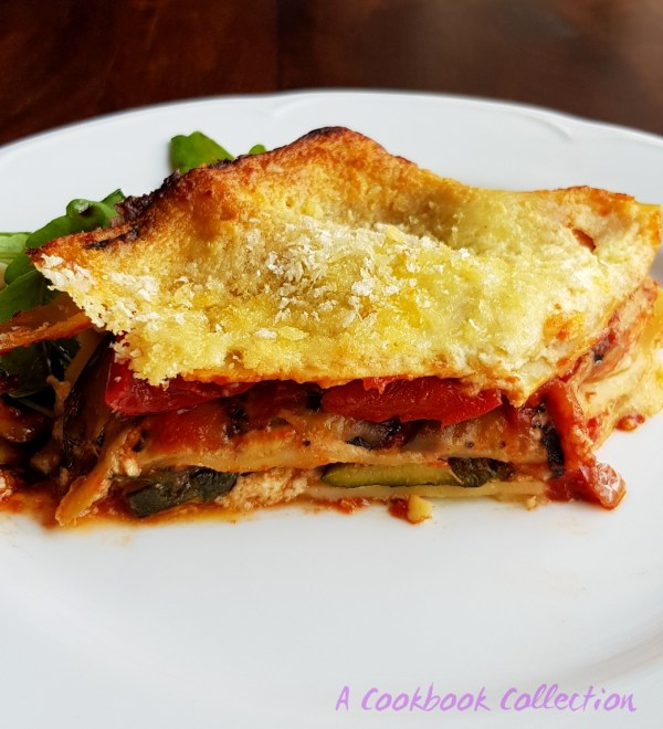 Cheesy Veg Lasagne - A Cookbook Collection