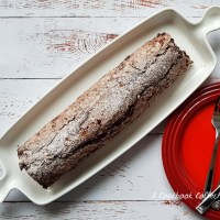 Chocolate Meringue Roulade