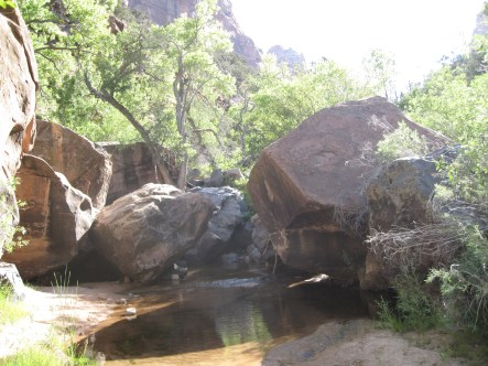 Boulders. Everywhere.