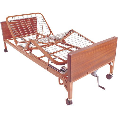 10. Semi Electric bed with Half Side Rails