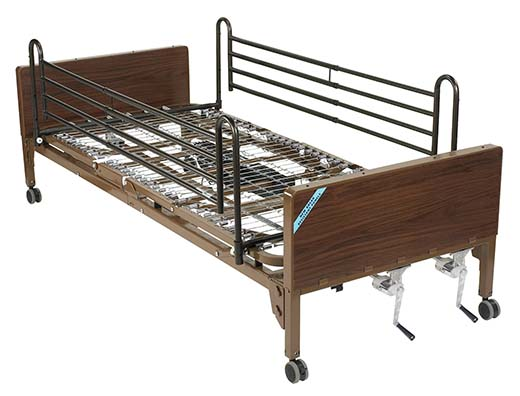 8. Full-Electric Bed by Medline