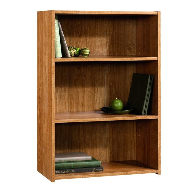 4. The Sauder Beginnings 3-Shelf Bookcase