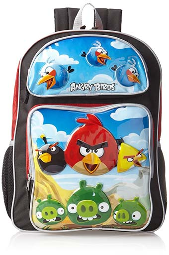 9. Accessory Innovations Big Boys' Angry Birds Flying Backpack, Multi, One Size