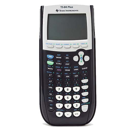 1. The first type of calculator is called the TI-84 plus from Texas Instruments