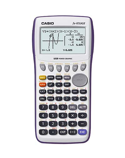8. FX-9750GII is the next out list of the 10 best graphing calculators
