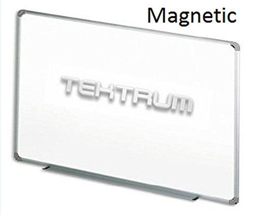 9. TEKTRUM MAGNETIC DRY ERASE BOARD WITH ALUMINUM/PLASTIC FRAME 36 X 24 INCHES, WHITE