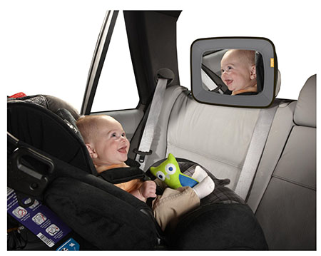 Brica Baby In-Sight Mirror, Gray