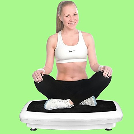 8. Maximum User Weight 330LB 200W Super Thin Full Body Vibration Plate