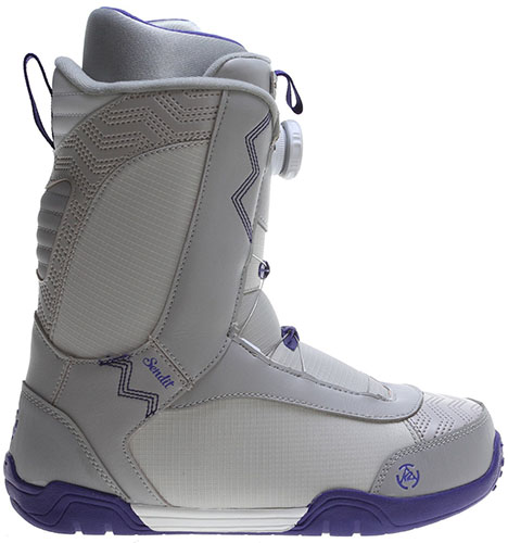 4. Flow Hykuo Coiler Stats snowboard boot