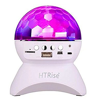 06. HT rise music controlled lights with wireless Bluetooth speakers
