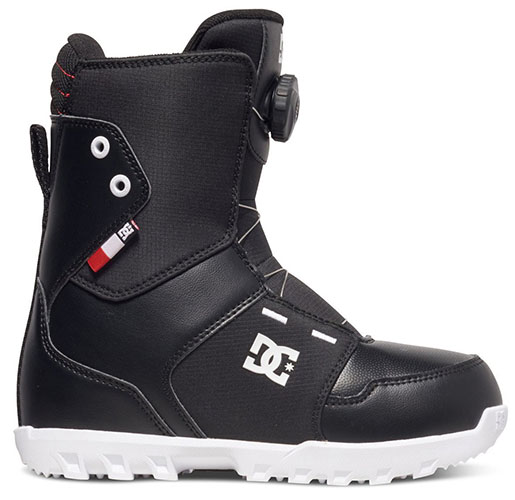 10. DC youth scout snowboard boots.