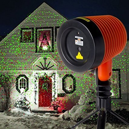 7. Laser Christmas Lights Outdoor