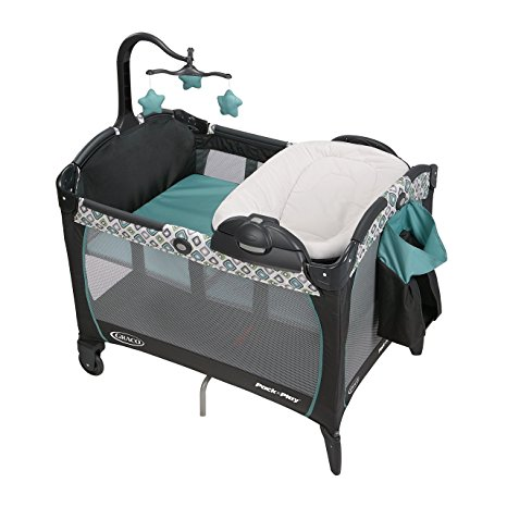 6. Graco Pack 'N Play Playard Portable Napper and Changer, Affinia