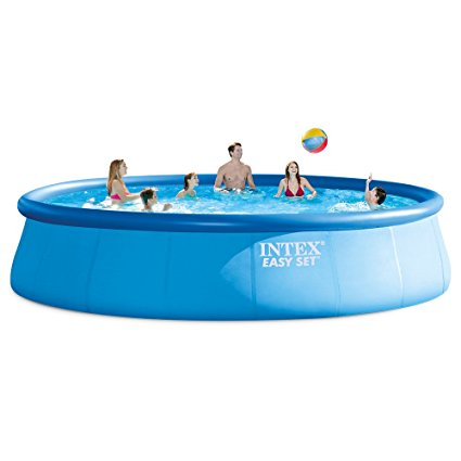 7. Intex 18ft X 48in Easy Set Pool Set