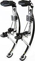 8. Air trekkers adult model- carbon fiber spring jumping stilts- medium 160-210 lbs.
