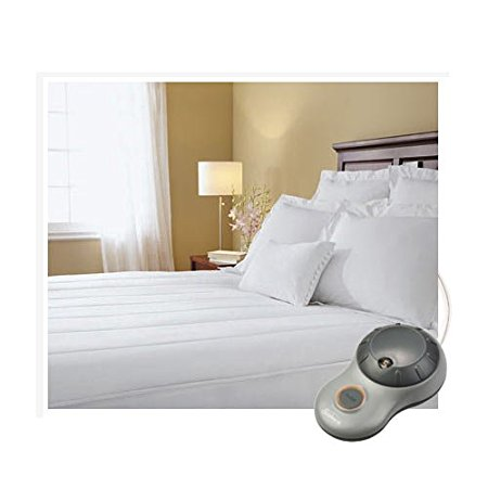 4. Sunbeam Thermofine Heated Mattress Pad