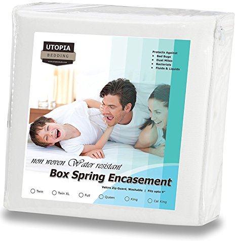 8. Zippered Box Spring Encasement