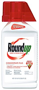 3. Round up weed and grass killer concentrate plus.