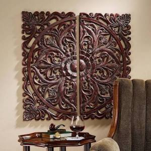 Carved Wood Wall Decor- Target $49.99