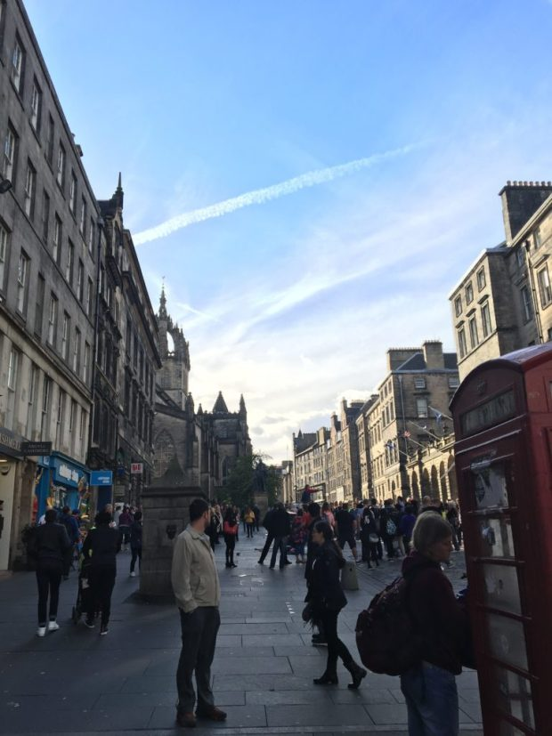 The Royal Mile-Edinburgh