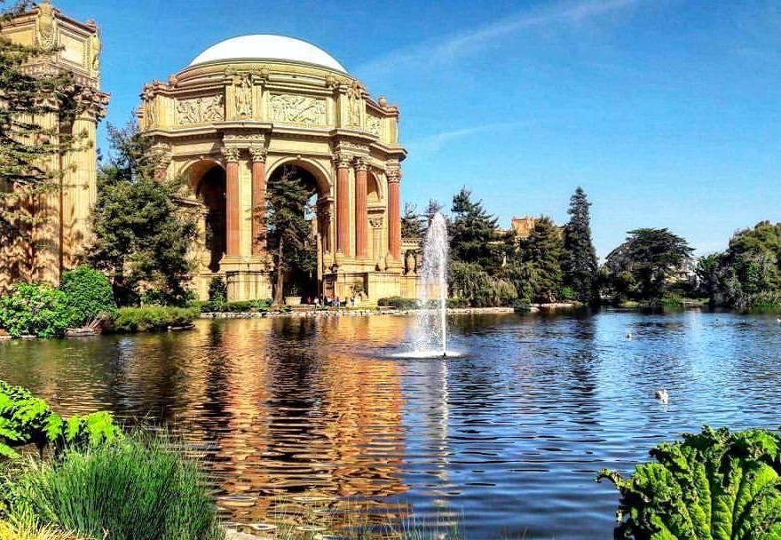 O que fazer em São Francisco - Palace Of Fine Arts