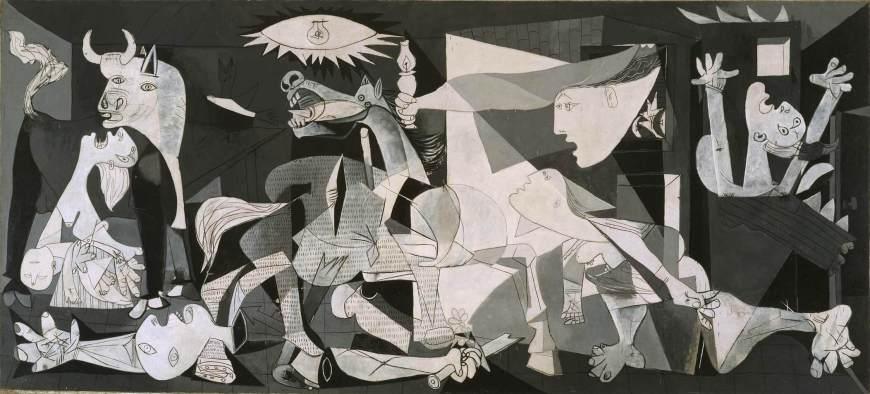 Reina Sofia - Guernica Picasso