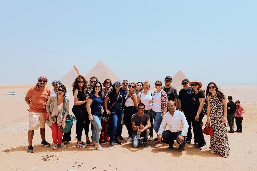 Grupo de viagem para o Egito - Abril de 2019