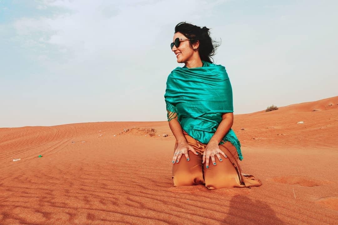 Abu Dhabi - Safari no Deserto