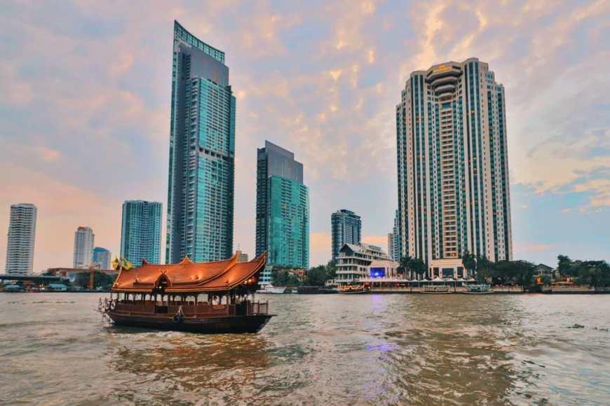 O melhor de Bangkok - Arranhacéus
