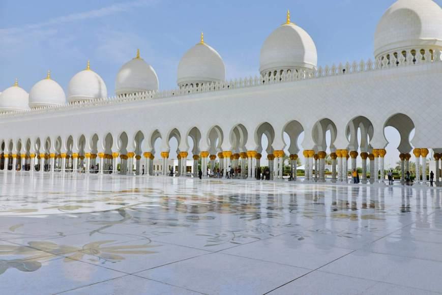 Abu Dhabi - Mesquita Sheikh Zayed