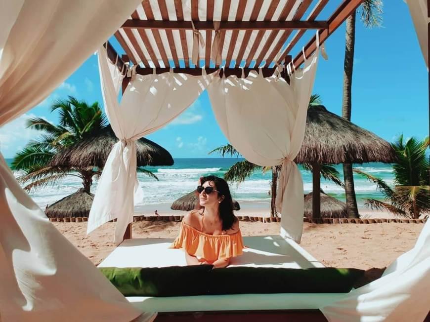 Resorts All Inclusive - Grand Palladium Estrutura de Praia