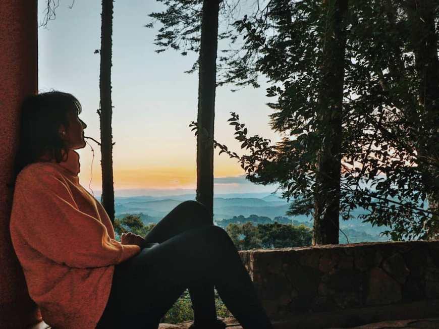 O que fazer em Monte Verde - Vista do Quarto