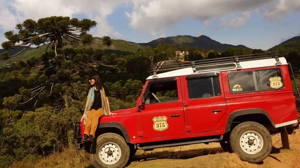 Monte Verde - Carro Vermelho