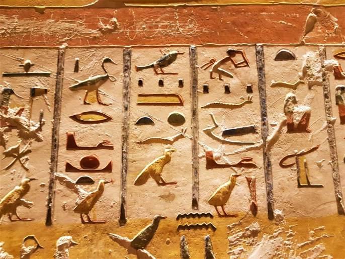 Mitologia Egípcia - Hieróglifos