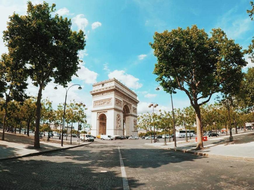Lugares para visitar em Paris - Arco do Triunfo