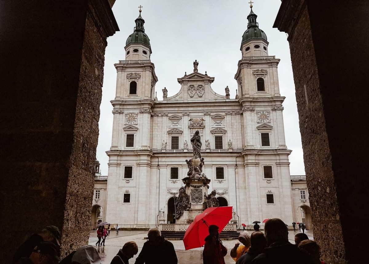 Catedral de Salzburg - Dia Chuvoso